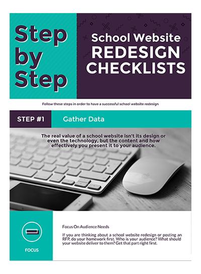 School Website Redesign Checklists