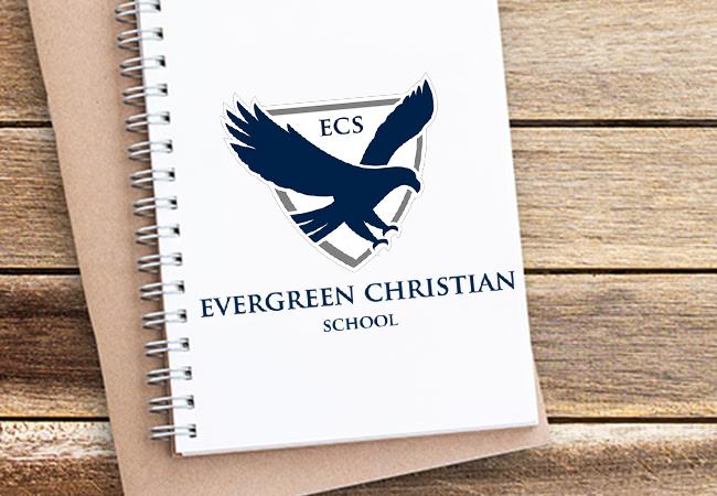School Logo Design: Evergreen Christian School