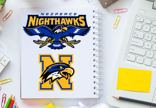 School Mascot Design: Nezperce Night Hawks