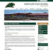 High School Website: Show Low High School