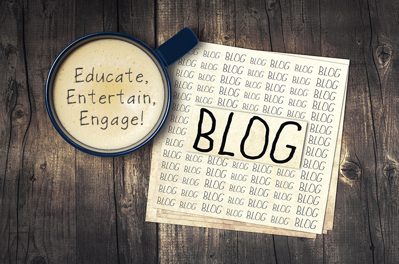 Educate, Entertain, Engage, BLOG