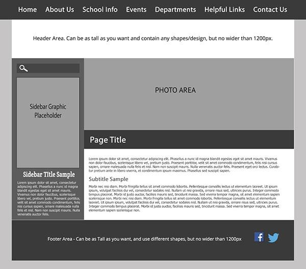 Custom Template School Websites 3b