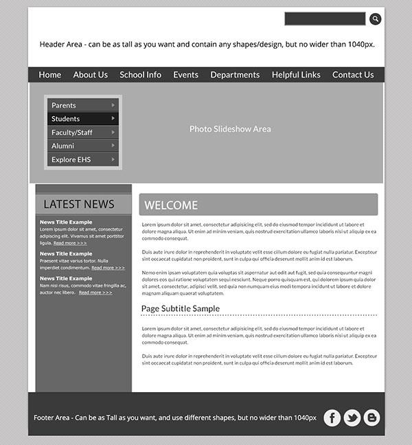 Custom Template School Websites 4a