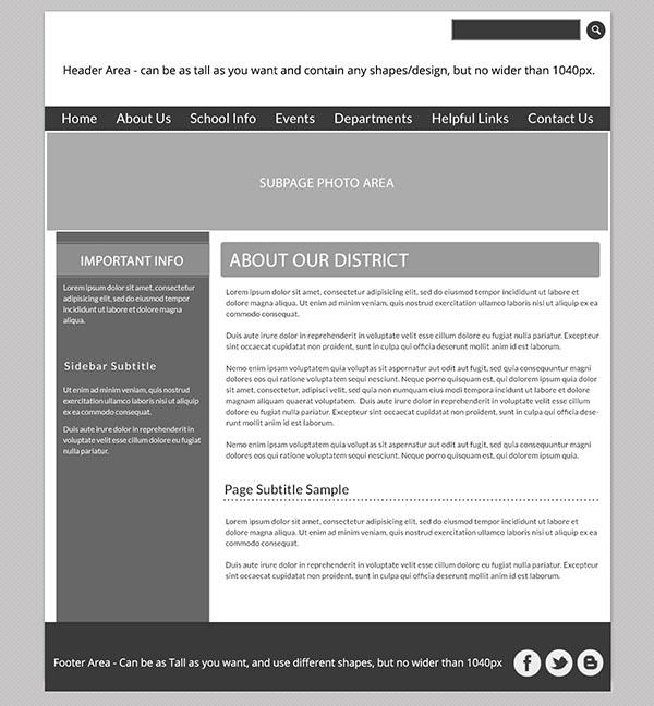 Custom Template School Websites 4b