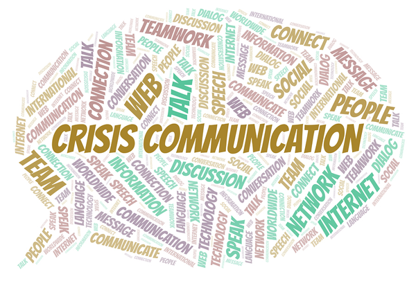 word cloud for crisis management words