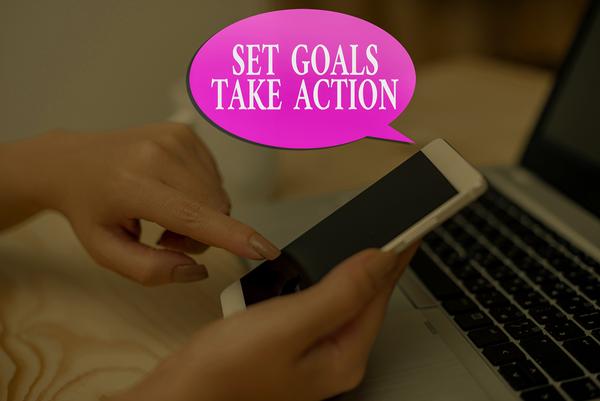 take action, set goals