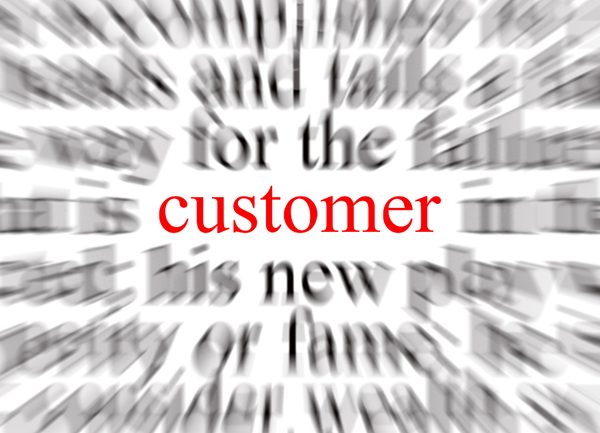 Focus on your customers