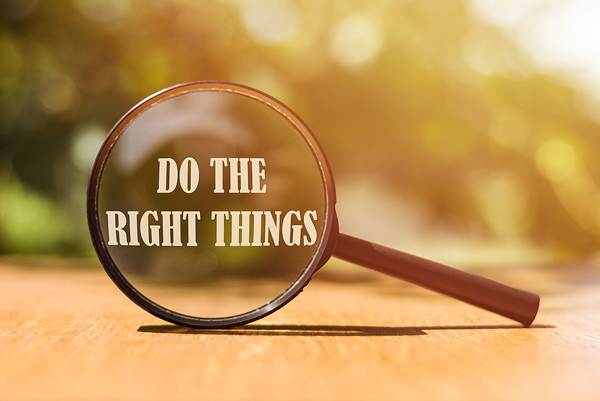 Do the right thing in school website management