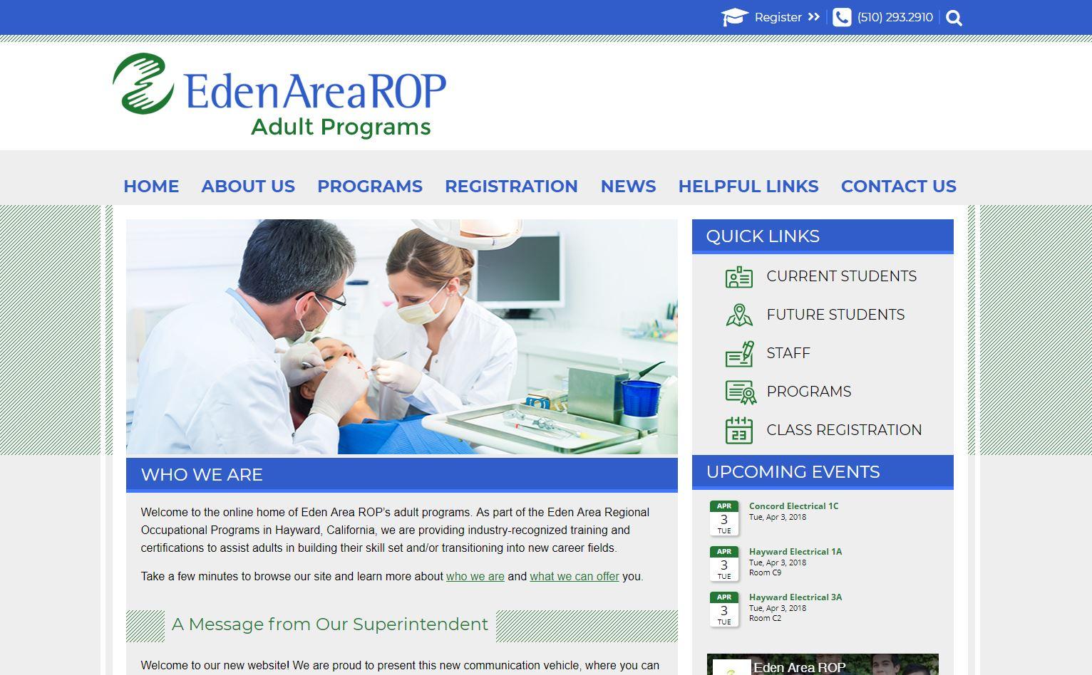 Eden Area ROP
