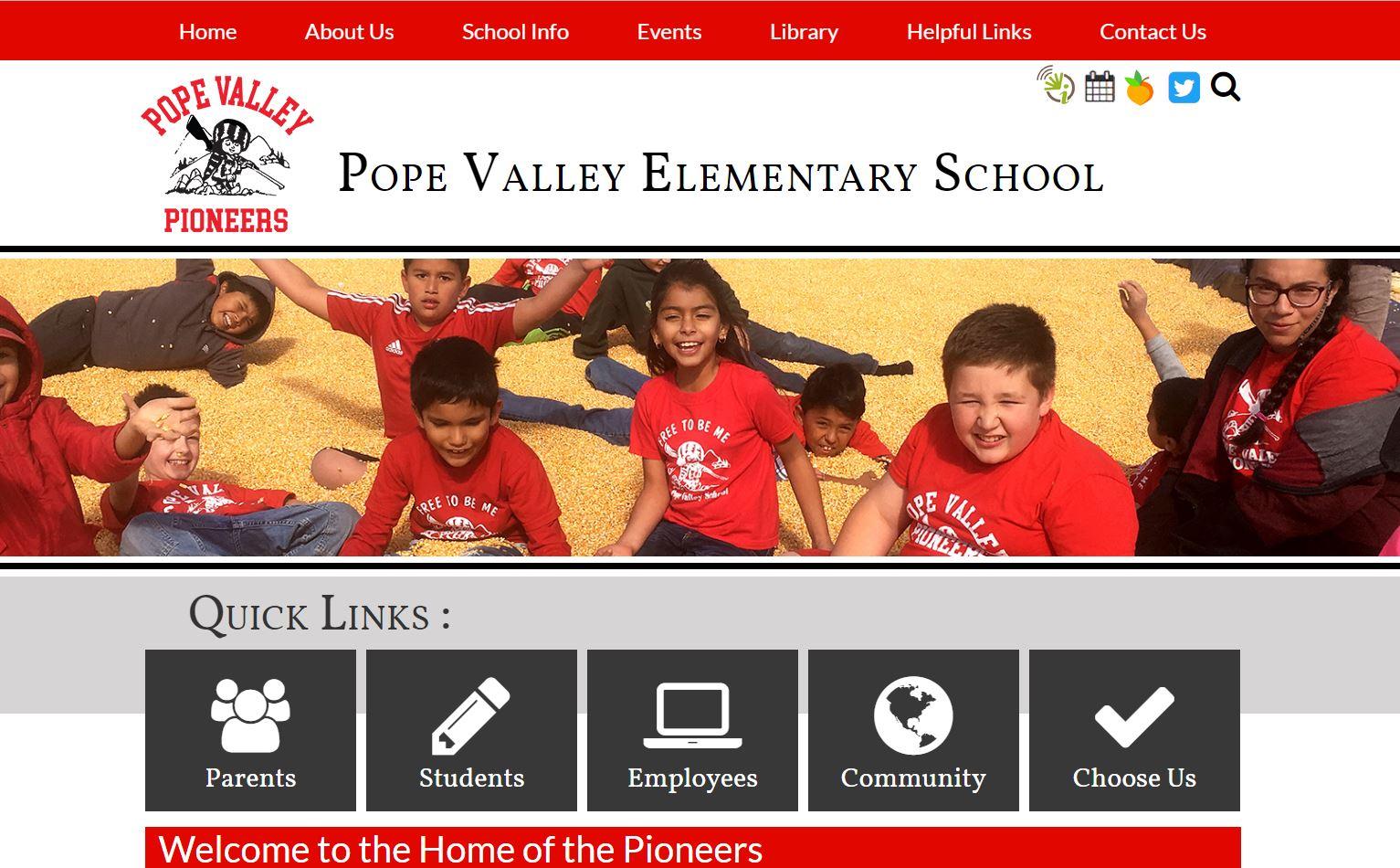 Pope Valley Elementary School