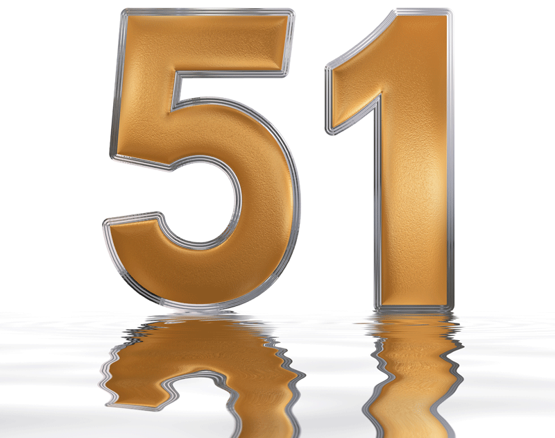 Image of the number 51, representing 51 ways to market your school