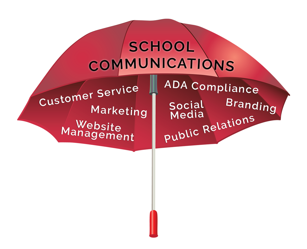 School communications umbrella