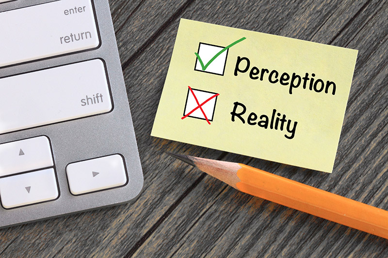 Change perception and earn respect