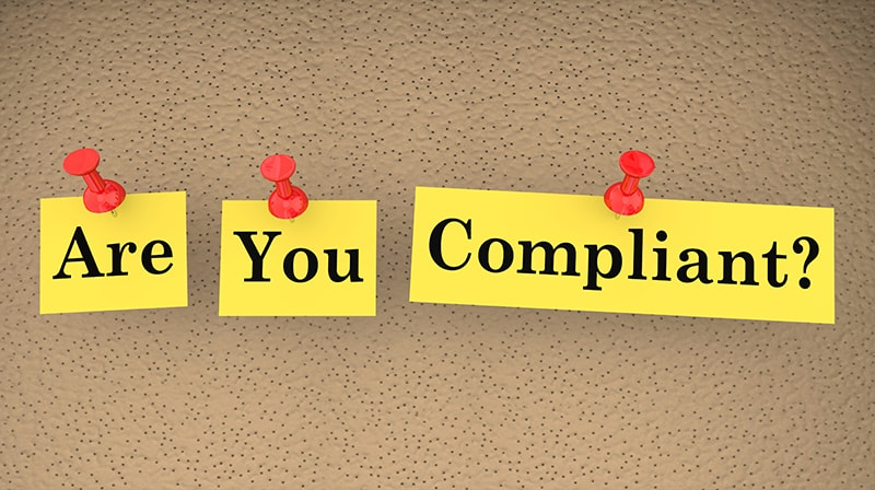 Image of sticky notes asking if you school is website complaint