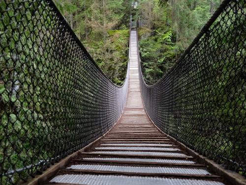 Image of foot bridge