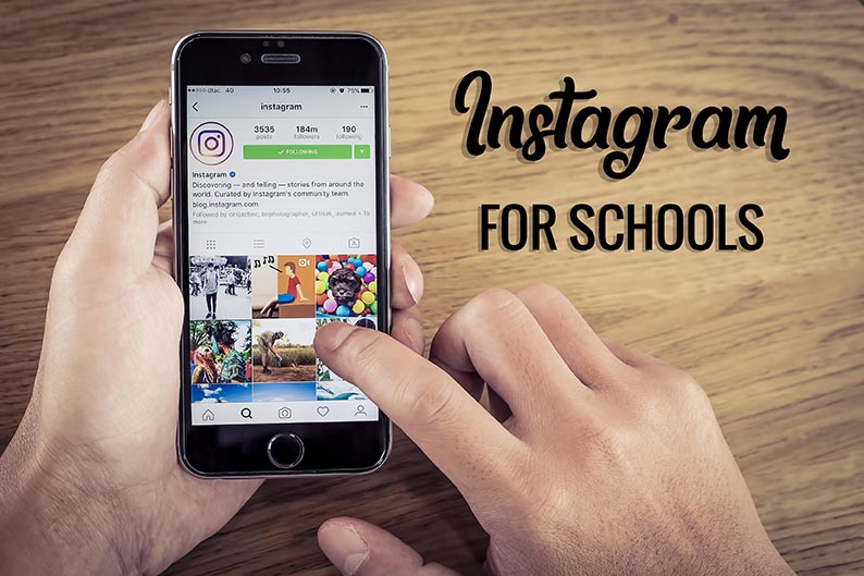 How To Use Instagram For Schools