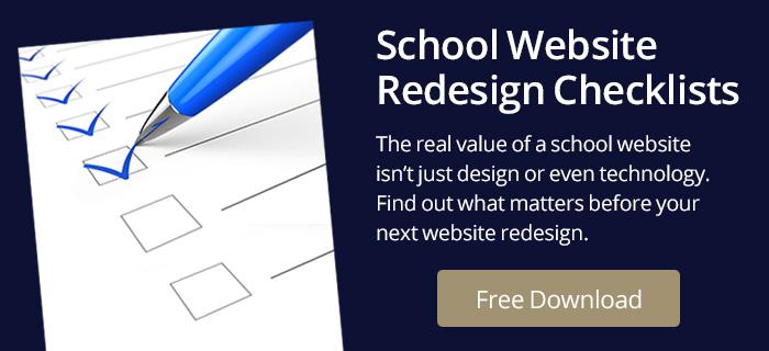 School Website Redesign Checklist Offer