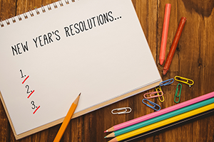 New Year Resolutions for school marketing image