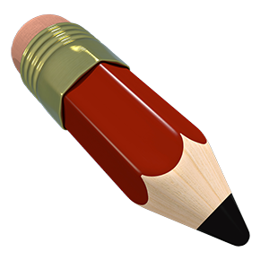 Image of red pencil