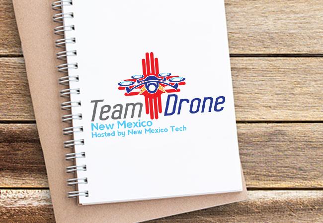 Organization Logo Design: Pecos Valley REC for Team Drone New Mexico