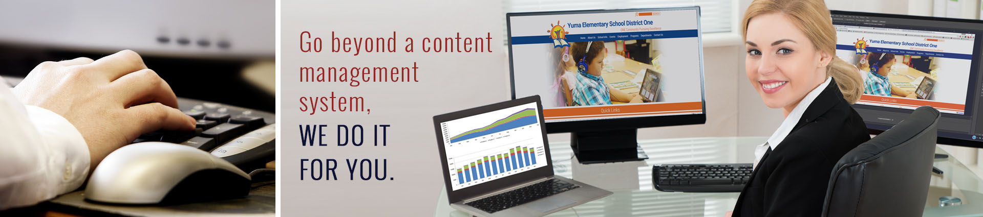 Go beyond a content management system