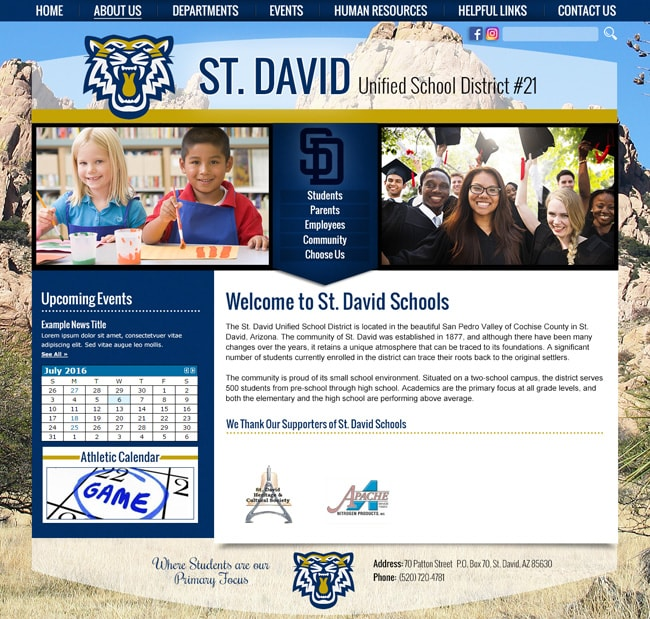 Unified School District Website: Addenbrooke Classical Academy