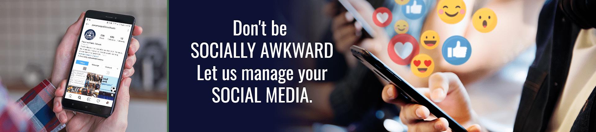 Your school's social media.