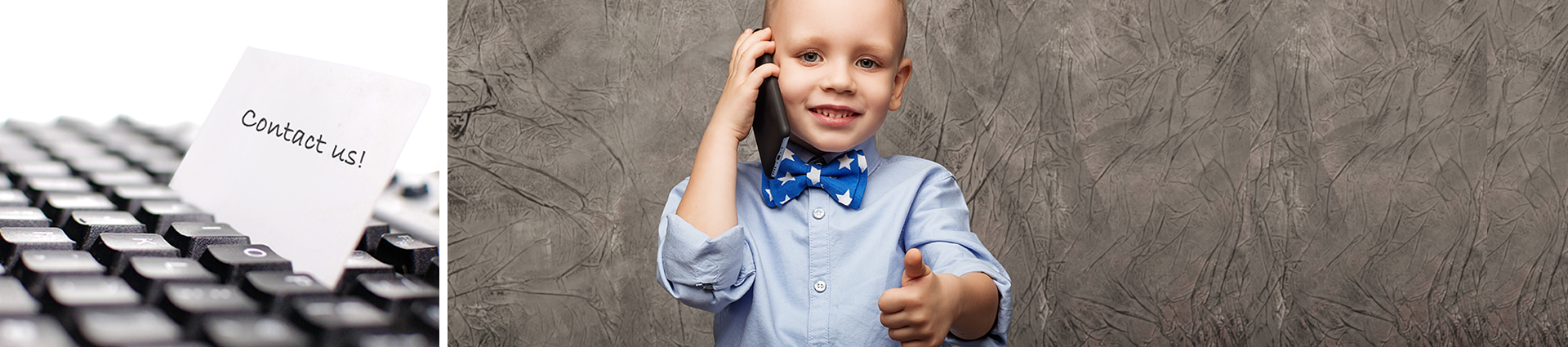 Boy on Telephone