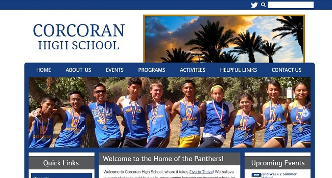School Websites: Corcoran High School