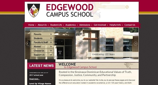 Private School Sites: Edgewood Campus School