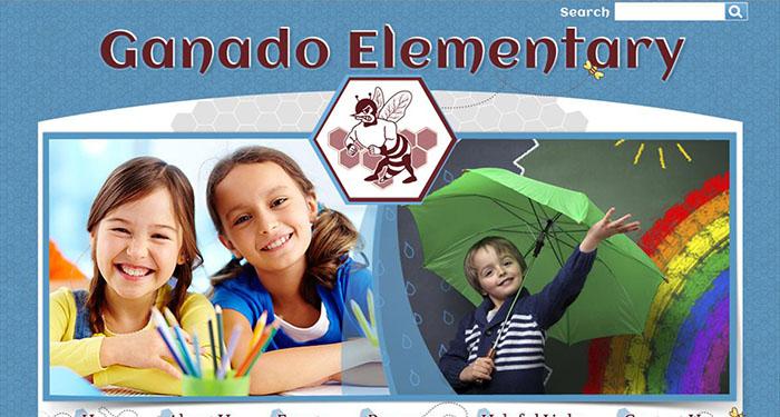 Elementary School Web Design: Ganado Elementary Sc hool