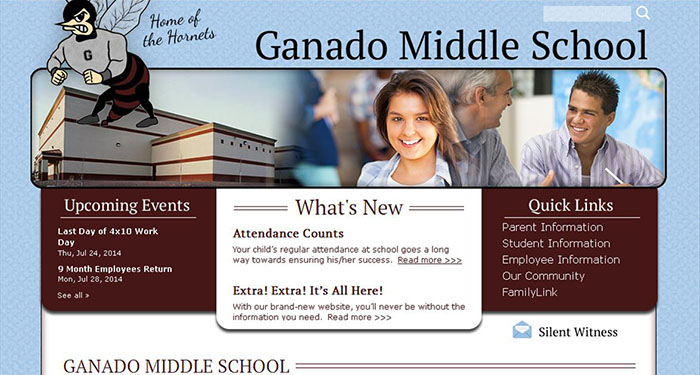 School Website Designers: Ganado Middle School