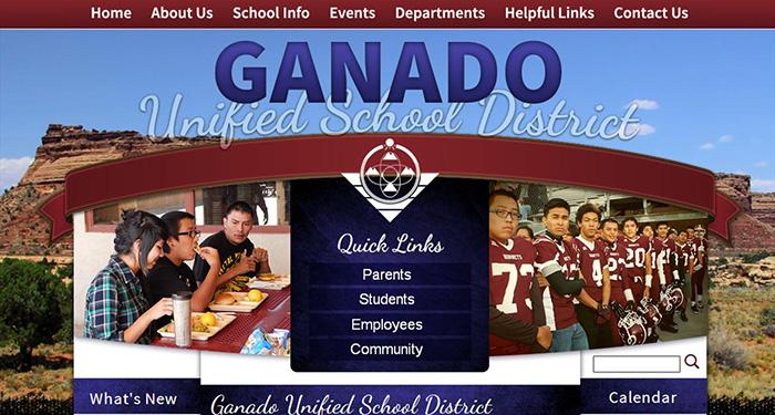 School Websites: Ganado Unified School District