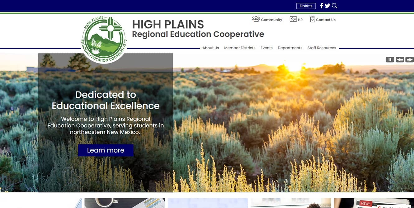 Education Co-op Websites: High Plains REC
