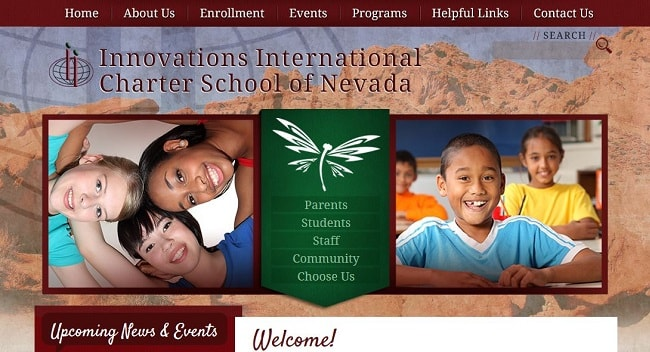 Private School Websites: IIC School of Nevada