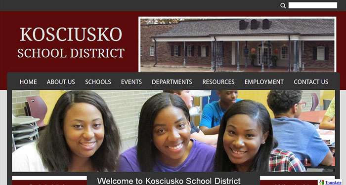 School Websites: Kosciusko School District