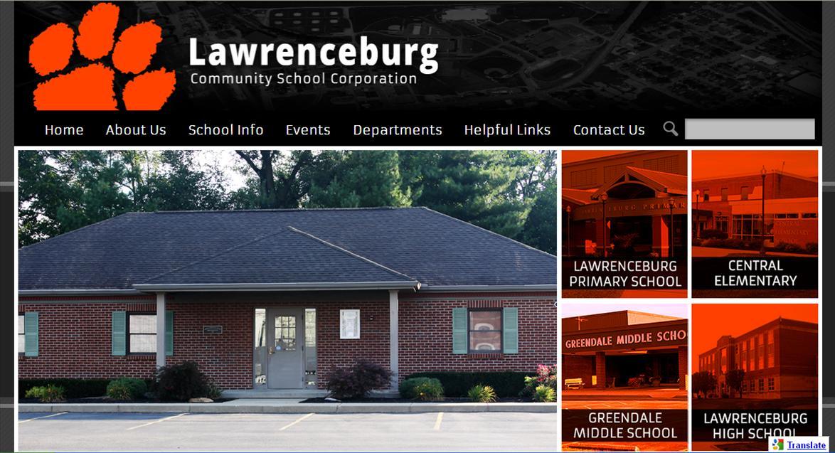 School Sites: Lawrenceburg Community School Corporation