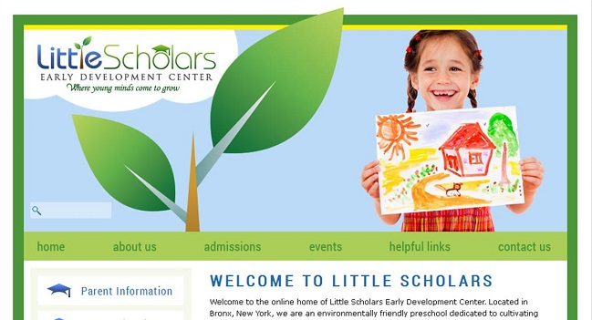Best Private School Website Design: Little Scholars EDC
