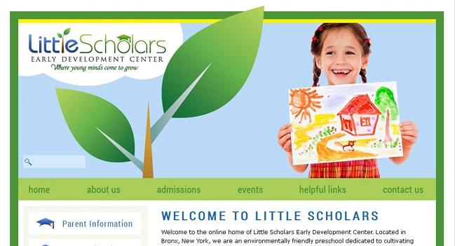 Best Private School Website Design: Little Scholars EDC