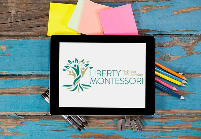 School Logo Design: Liberty Montessori