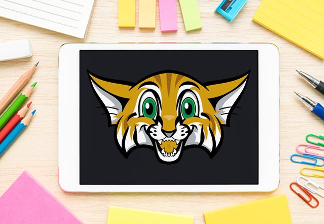 School Mascot Design: Wilson Elementary Sandcat