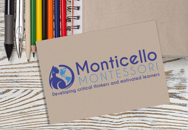 School Logo Design: Monticello Montessori