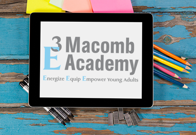 School Logo Design: Macomb Academy