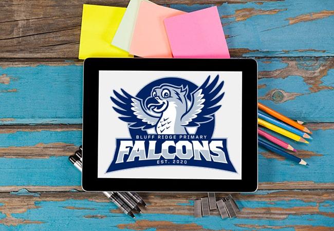 School Mascot Design: Bluff Ridge