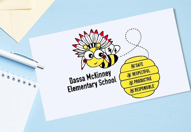 School Mascot Design: Dassa McKinney Elementary School