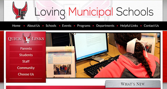 School Websites: Loving Municipal Schools