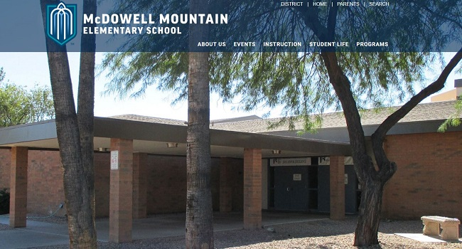 Web Design for Schools: McDowell Mountain Elementary