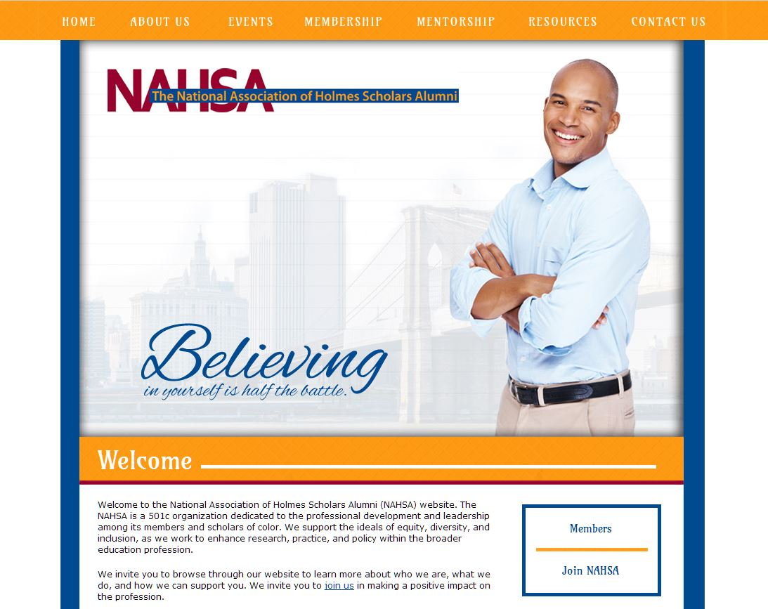 Educational Organization Website: NAHSA