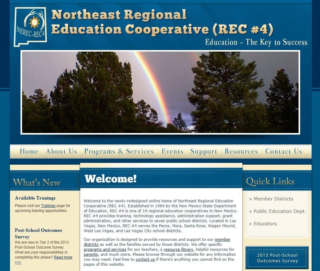 Education Coop Websites: Northeast REC #4
