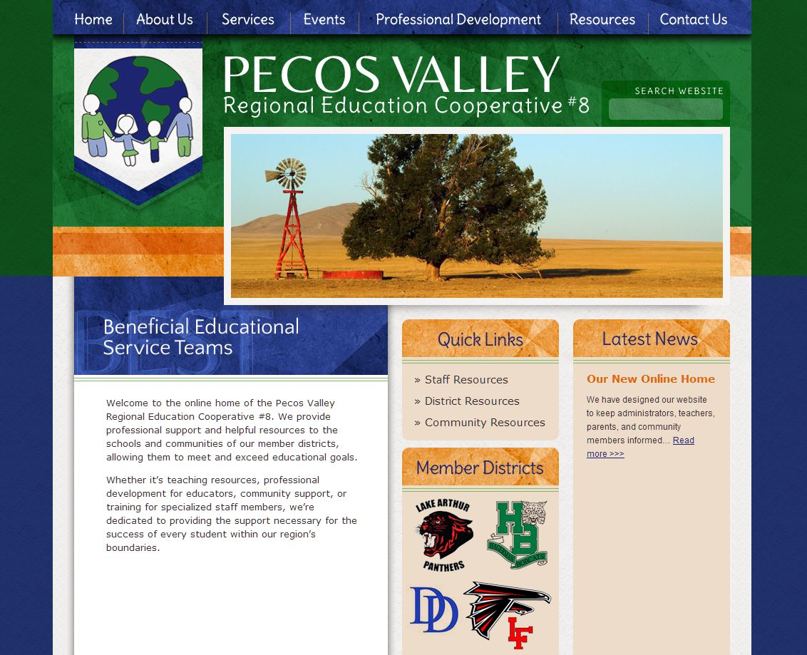 Education Coop Design: Pecos Valley REC